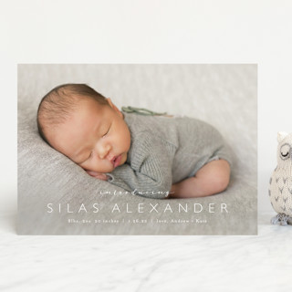 Baby Bliss Birth Announcements