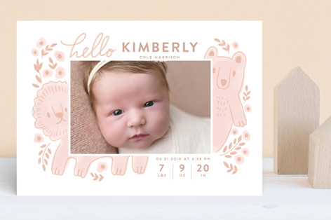The two happiest friends Birth Announcements