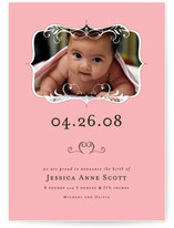 Garden Feast Birth Announcements