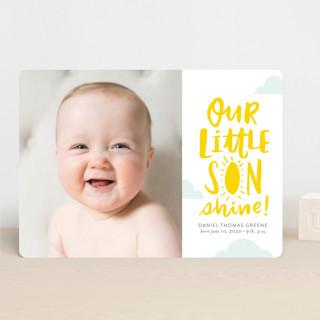 Little Sonshine Birth Announcements