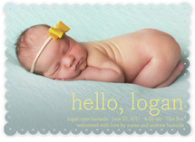 Hello Baby Birth Announcements By annie clark