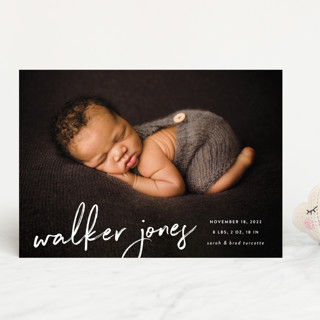 Scripted Birth Announcements