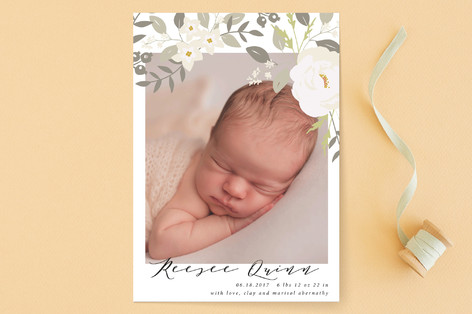 Woodland Birth Announcements