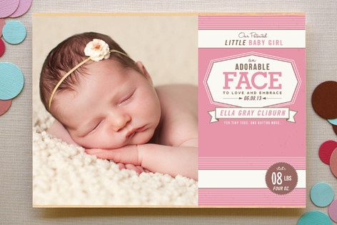 Girl Birth Announcements Jcmanagementco - Girl birth announcements