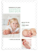 My Little Sib Birth Announcements