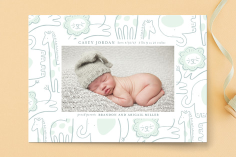 Little Critters Birth Announcements