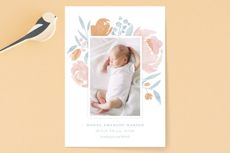Precious Petals Birth Announcements