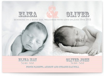 Sunshine on a Rainy Day Birth Announcements