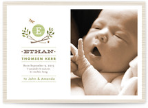 Norwegian Wood Birth Announcements