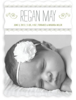 Curlicues Birth Announcements