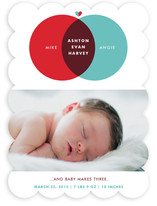 Baby Makes Three Birth Announcements By Susie Allen