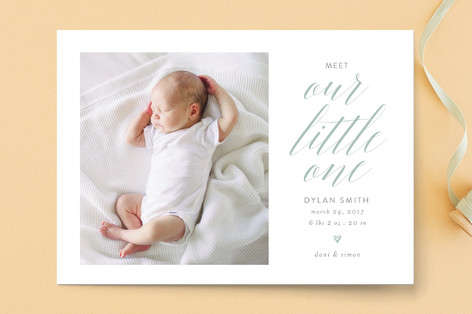 Sweet dreams, sweet pea Birth Announcements