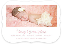 Pure Birth Announcements
