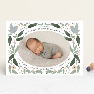 little birdie Birth Announcements