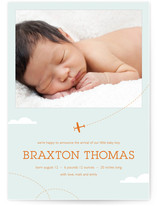 little aviator Birth Announcements