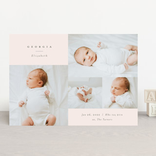 Modern Collection Birth Announcements