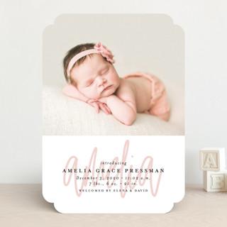 graced Birth Announcements