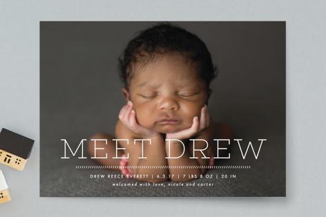 Intro Birth Announcements