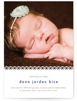 Sweet Lace Birth Announcements