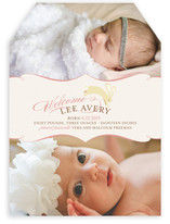 Snuggle Bunny Birth Announcements