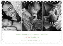 Three in a Row Birth Announcements