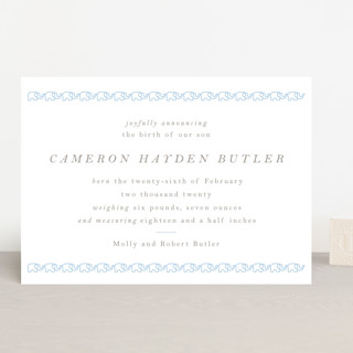 Petite Elephant Birth Announcements