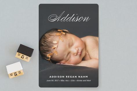 Precious Name Birth Announcements