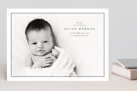 Sweet Little One Birth Announcements