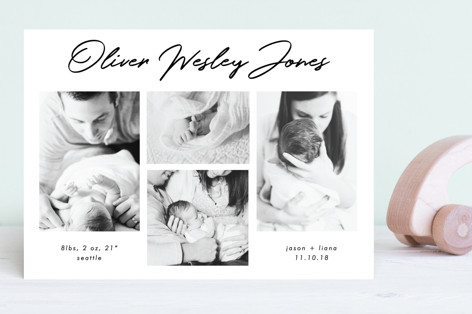 Headliner Birth Announcements