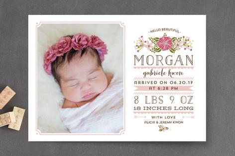 Hello Beautiful Birth Announcements