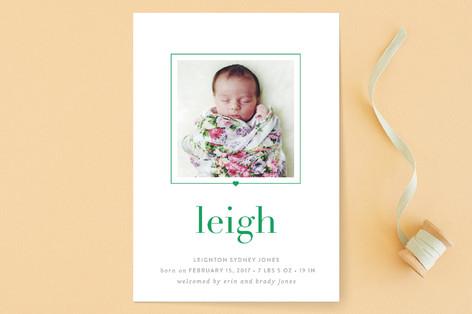 luca Birth Announcements