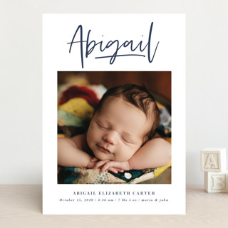Introduction Birth Announcements