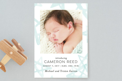 Starshine Birth Announcements