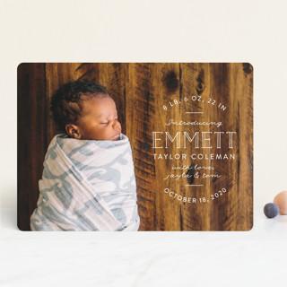 Basic Intro Birth Announcements