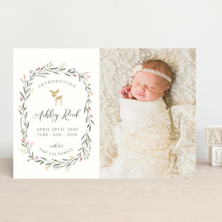 Little Deer Birth Announcements