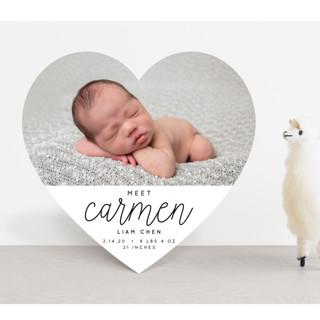 Joyfull Baby Birth Announcements