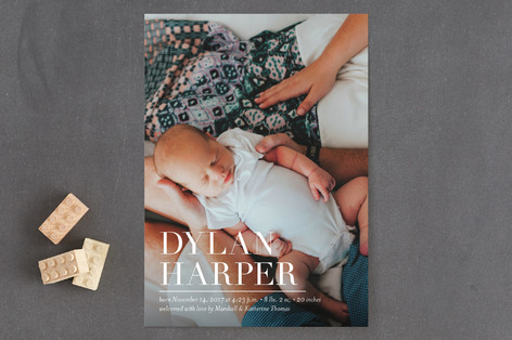 Namely Birth Announcements