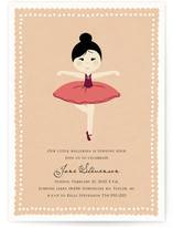 Diary of Jane Children's Birthday Party Invitations
