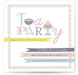 Teapography Party Children&#039;s Birthday Party Invitations