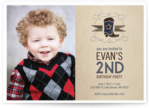Howdy Party Children's Birthday Party Invitations