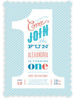 The Big One! Children&#039;s Birthday Party Invitations