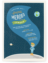 Up, Up and Away Children&#039;s Birthday Party Invitations