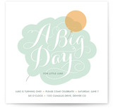 Cloudy with a Chance of Fun Children&#039;s Birthday Party Invitations