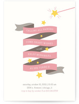 Fairy Stars Children&#039;s Birthday Party Invitations
