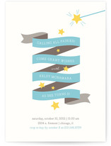 Fairy Stars Children's Birthday Party Invitations
