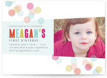 Confection Children&#039;s Birthday Party Invitations