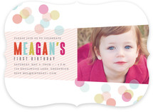 Confection Children's Birthday Party Invitations