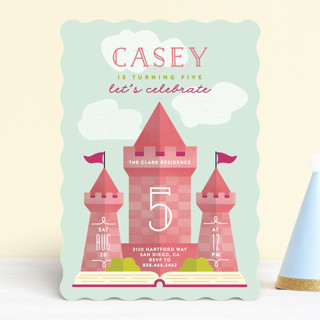 Storybook Children's Birthday Party Invitations