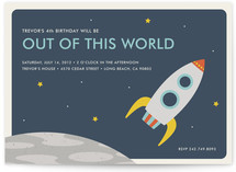 Out of This World Children&#039;s Birthday Party Invitations