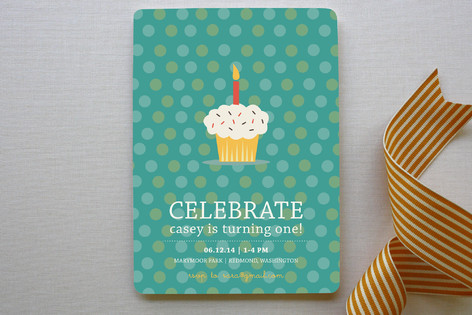 Birthday Balloon Fun Children's Birthday Party Invitations